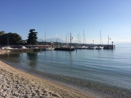 Strandje van camping in Desenzano