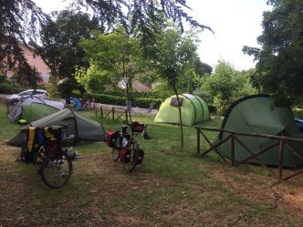 Camping in Siena