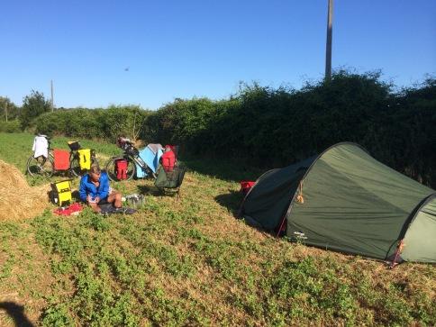 Bagnoregio, wild kamperen