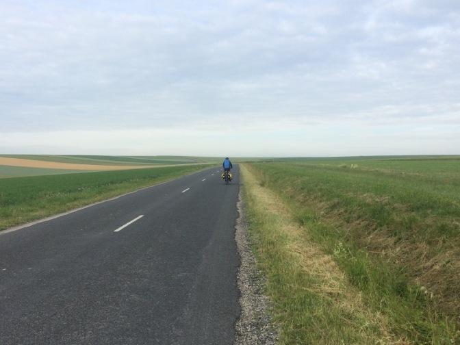 Hoe sterk is de eenzame fietser.....