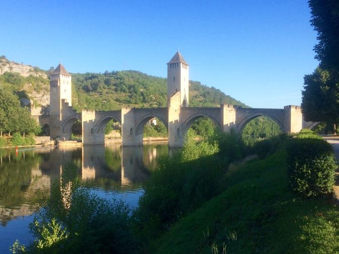 Monumentale brug bij Cahors