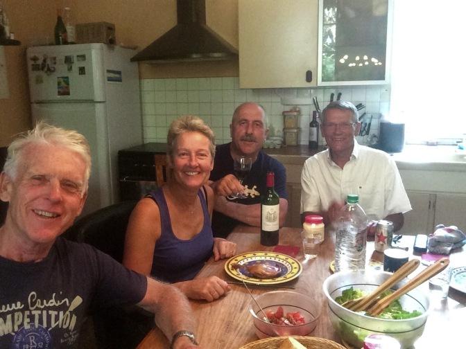 Een heerlijk diner bij Annemieke en Marc, Le Haget
