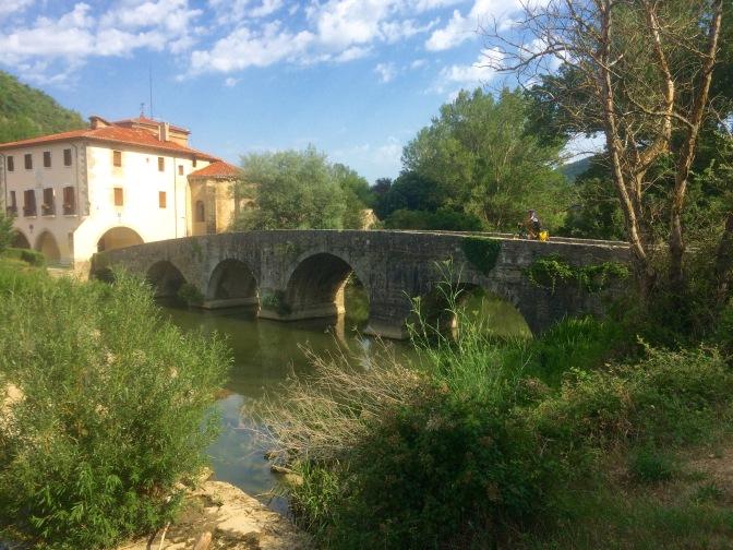 Pelgrimsbrug in Vilava Atarabbia