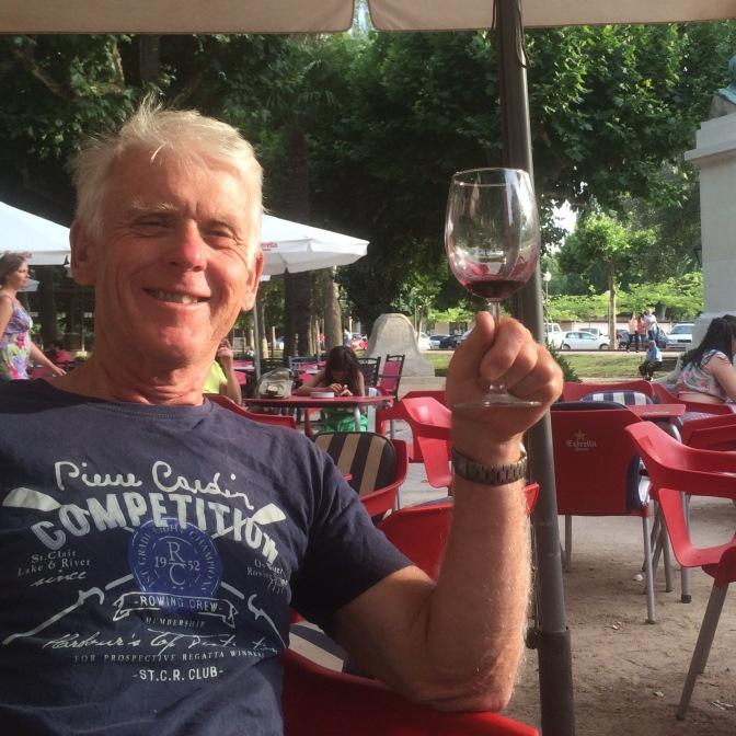 Wijntje in Nájera