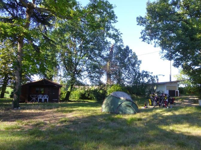 Camping à la ferme bij Maridoux