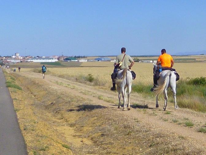 De Camino te paard. Kan ook...