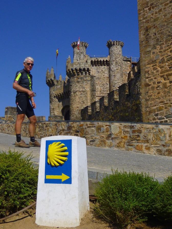 Goed geconserveerd kasteel in Ponferrada