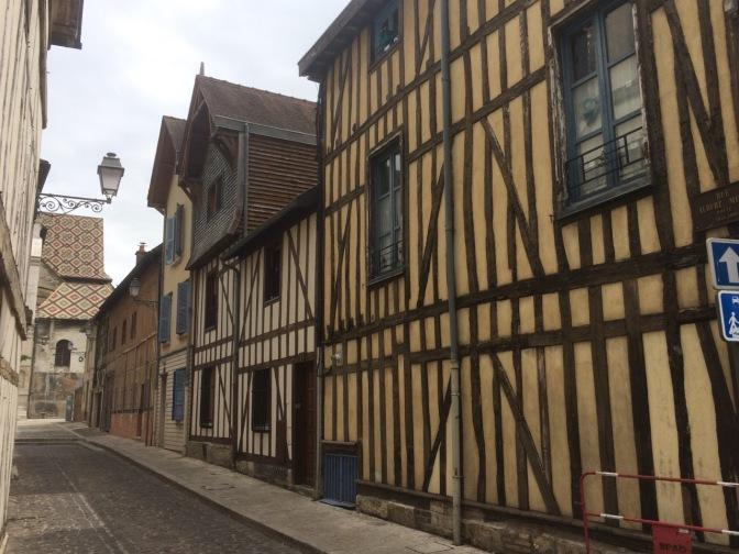 Troyes, oude binnenstad