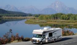 VS Grand Teton en Yellowstone