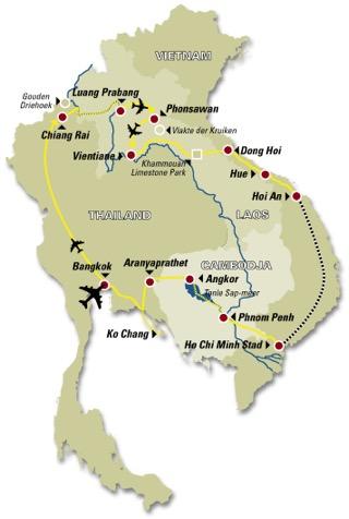 Het spoor van de Mekong