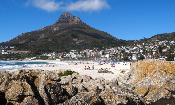 Strand Camps Bay met Lion's Head