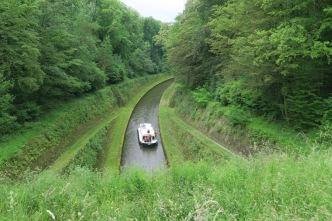 Tunnel in het Marne-Rijnkanaal