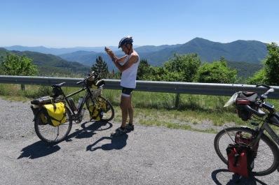 Na 40 km: het hoogste punt bereikt