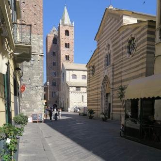 Albenga, de oude stad